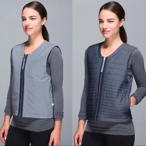Lululemon Reversible Reflective Vest